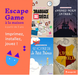 Escape Kit, votre escape game à la maison